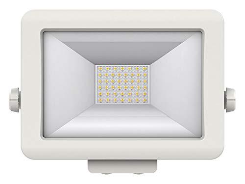 Theben 1020685 theLeda B30L WH - LED-Strahler - 30 W - Außenbereich - 360 ° drehbar - weiß