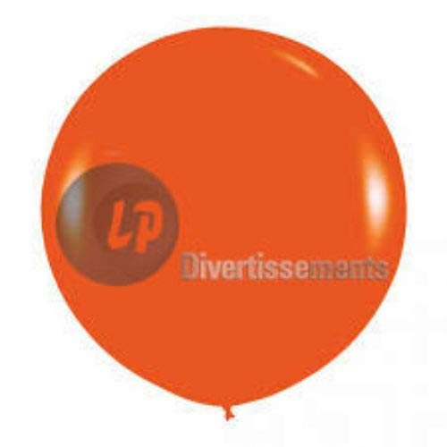 COOLMP Fiesta Palace - Ballon Géant 1M37 Orange