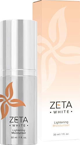 Zeta White: Skin Lightening Night Cream - Vegan Skin Care Formula with Vitamin C, Liquorice and Papaya Extract - 30 ml - For All Skin Types - No Harsh Chemicals, Alcohols, Parabens or Sulphates