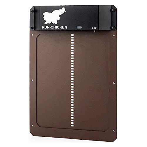 HEYWR Porte de poulailler automatiquePorte de poulailler Automatique photosensible,Porte Automatique de poulailler Porte de poulailler Automatique Sensible à la lumière (A)