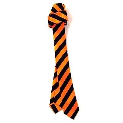 Rock de cravate Stripes Orange Fluo
