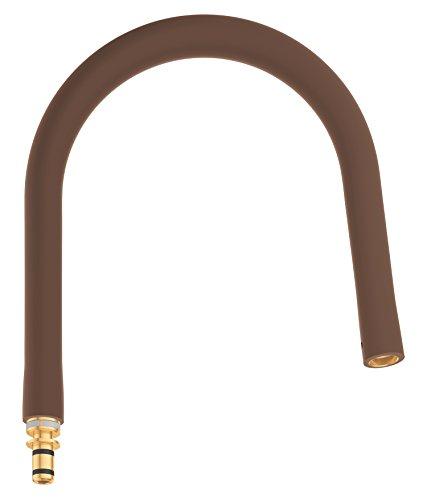 Grohe Essence New - Flexo para grifo de cocina Caño para Essence Profesional color marrón oscuro Ref. 30321HG0
