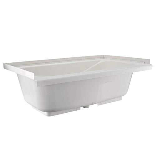 RV Bathtub | Durable Replacement 40' x 24' | Camper Trailer RV Tub | Alpha (White)
