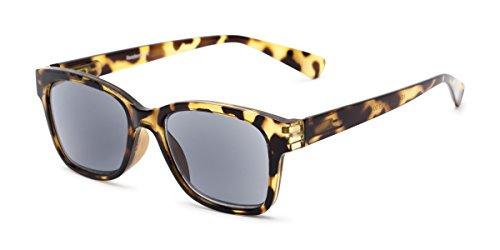 Readers.com Reading Sunglasses: The Azalea Reading Sunglasses Plastic Retro Square Style