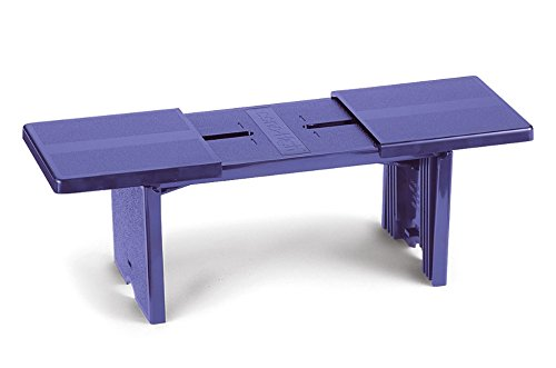 Innovative Compact Portable Footrest Purple - Made in USA