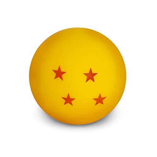 Dragon Ball Mini Dragon Ball Unisex Lámpara de mesa rojo/amarillo, Plastico,