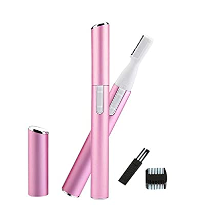 Mini Electric Eyebrow Trimmer Shaver Portable Face Body Shaver Razor Epilator Facial Hair Remover Depilation Battery Operated by Iswell from Iswell