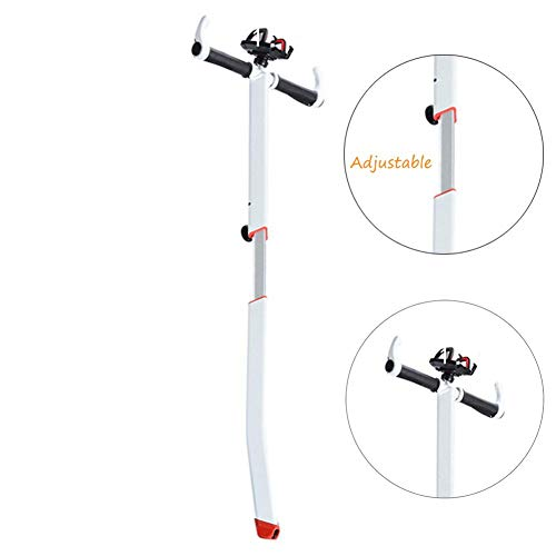 Ecisi Manillar Ajustable para Scooter Segway miniPRO miniLITE Ninebot S con Soporte para teléfono, Barra de Manillar Desmontable para Scooters autobalanceados, aerotabla de Equilibrio