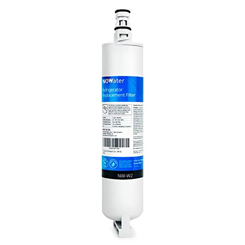 Now Water | Premium Replacement Whirlpool Refrigerator Water Filter | Made in USA NSF UPC Certified Whirlpool Filter 5, Kitchenaid, and Kenmore Filter | 8212491, 4396163, 46-9010, more | 1 Pack