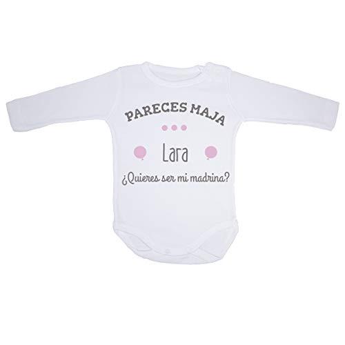 AR Regalos Body bebé personalizado ¿Quieres ser mi madrina
