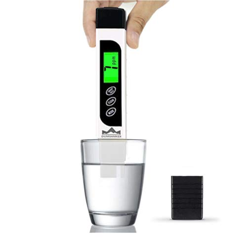 TDS Meter Digital Water Tester, DUMSAMKER Professional 3-in-1 TDS,...