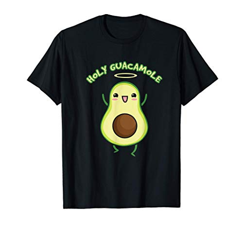 Avocado - Holy Guacamole Avocado Healthy - Vegan Vegetarian T-Shirt