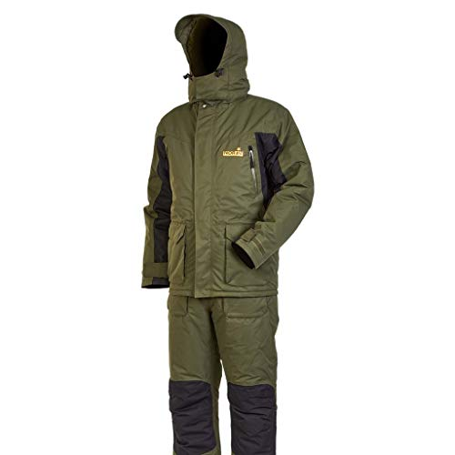 Norfin Element - Fishing Suit - Waterproof and Breathable - Wind Resistant - Hooded - Thermoguard Insulation - Warm and Comfortable (XXL)