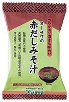 オーサワジャパン オーサワの赤だしみそ汁 1食分(9.2g 10個セット
