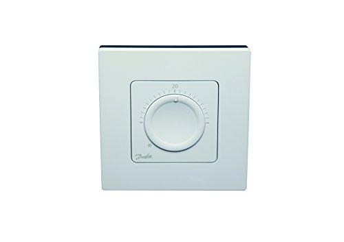Danfoss 088U1005 opbouw, Icon Cadran 230 V, voor hydraulische vloerverwarming en andere toepassingen met motoren, wit