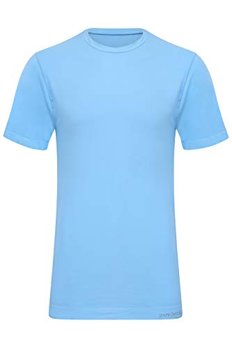 Sundried première Mondiale Hommes Biodégradable Sport T-Shirt pour Fitness Gym Formation Eco Workouts bienvenus en Cours (Bleu, S)