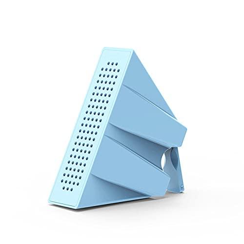 Soporte para teléfono móvil portátil Soporte Mini Amplificador de Sonido Altavoz para teléfono móvil Soporte de Escritorio Smartphone, Azul Cielo