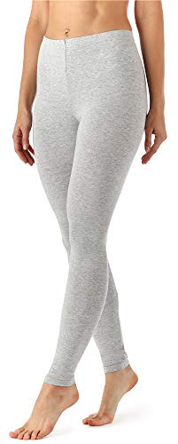 Merry Style Damen Lange Leggings aus Viskose MS10-143 (Melange, XL)