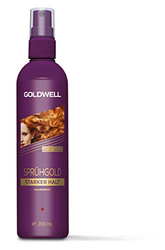 Goldwell Sprühgold Starker Halt Non-Aerosol Pumpspray, 200 ml