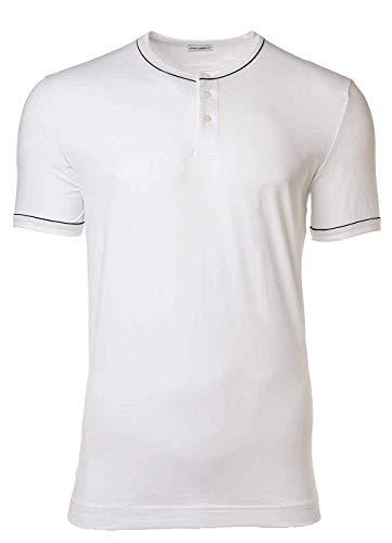 Dolce & Gabbana Camiseta Hombre, Serafino, D & G, Cuello Redondo, Tapeta con Botones, Colores Lisos: : X-Large