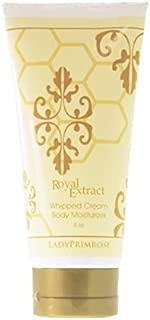 Lady Primrose Royal Extract Whipped Cream Body Moisturizer, 6oz