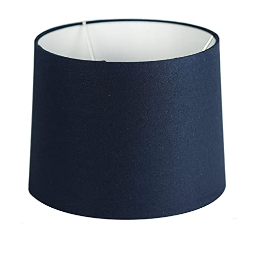 Uno Fitter Small Navy Blue Fabric Lampshade 9