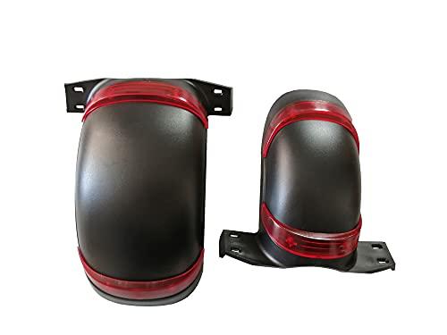 CML Ajustar para Acceso de Recambio de Guardabarros de Scooter eléctrico de Cero 10x (Color : Front and Rear)