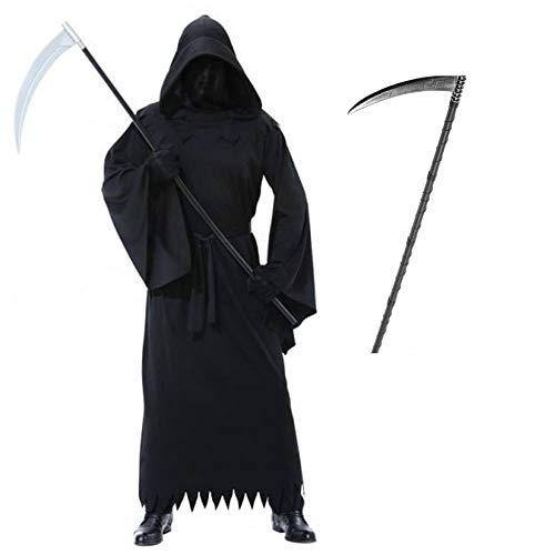 (996203) Mens Phantom Of Darkness Costume + Scythe
