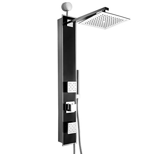 AKDY 35 in. 2-Jet Easy Connect Shower Panel System...