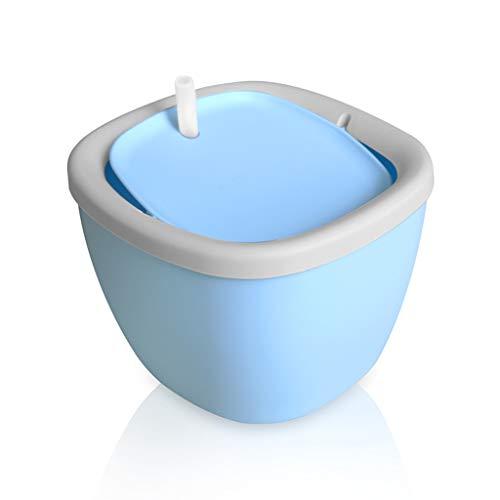 Ab Pet Hair Dryer CWYSJ Fontaine à Eau pour Chat et Chien Fleur avec Filtre,1L Fontaine de Filtre Silencieuse Pompe à Eau Distributeur de l'eau Recyclable pour Animaux,-Rose