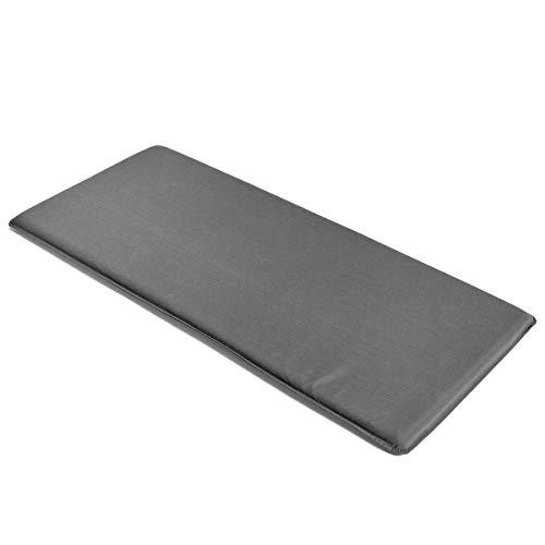 HAY Palissade Sitzkissen 118,5x54.5cm, anthrazit wasserabweisend für Palissade Outdoor Lounge Sofa
