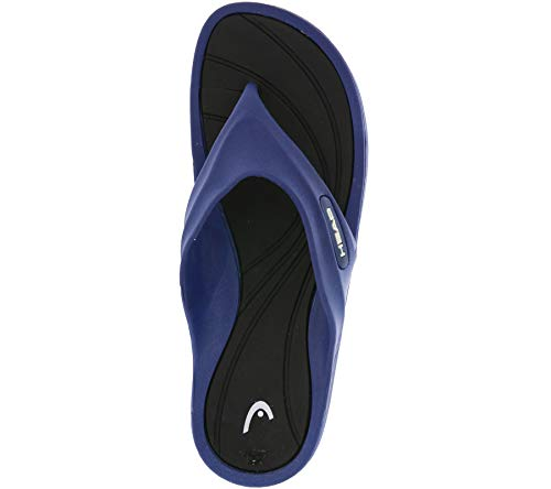 HEAD Herren Slipper Orion Man Flip-Flops, Blau/Schwarz (NVBK), 43 EU