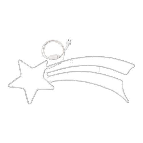 XMASKING Figura Luminosa, Stella Cometa Coda Doppio Profilo...