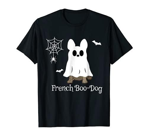 French Boo-Dog Halloween French Bulldog Gift T-Shirt