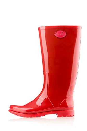 MEI Damen Gummistiefel (Rot) - 2