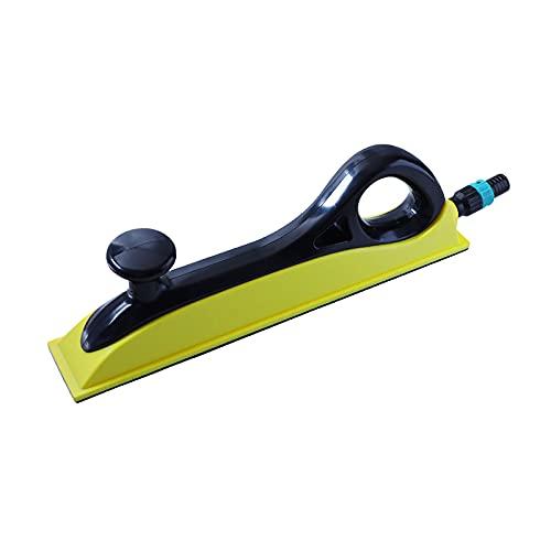 gazechimp Manual Polishing Vacuum Plate Dust Suction Sandpaper Holder Porous Hand Push Mesh Sand Polishing Tool