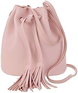 Miniso Chain Bag Straw for Young Lady Girls Holiday Small Pouch Scarf Handle Sling Bag