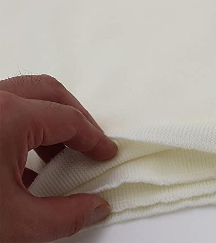 [バンタン]毛100%日本製腹巻メンズウールラクダあったか毛腹巻き(L,オフ白)