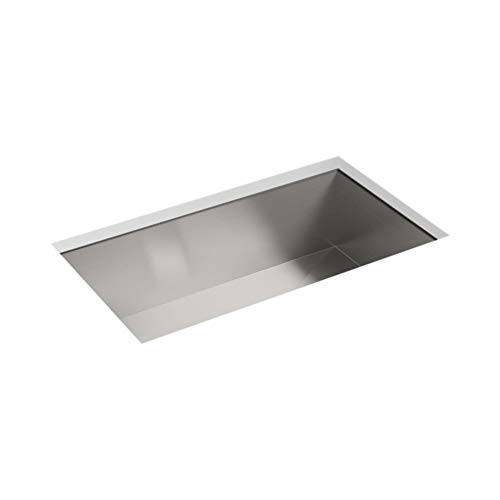 Sterling Ludington 20022-NA 32-Inch by 18.25-Inch Under-Mount Single Bowl Kitchen Sink, Stainless Steel