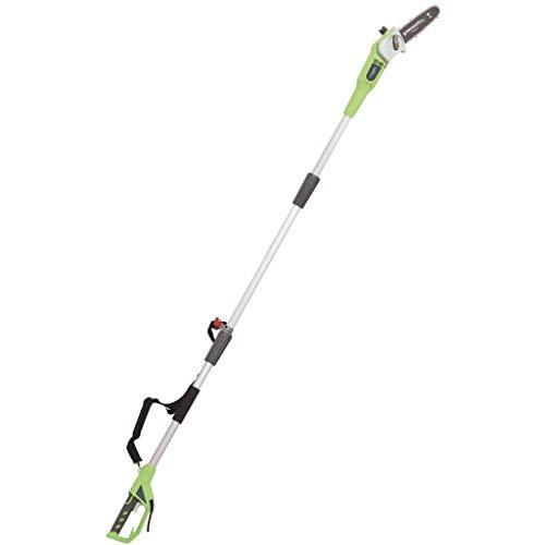 Greenworks Podadora telescópica eléctrica de 20cm, 720W - 20147