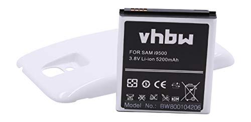 Batería Alta Capacidad 5200mAh para Samsung Galaxy S4 Galaxy S4 LTE, GT-I9500, GT-i9502, GT-i9505 para B600BE, B600, B600BU