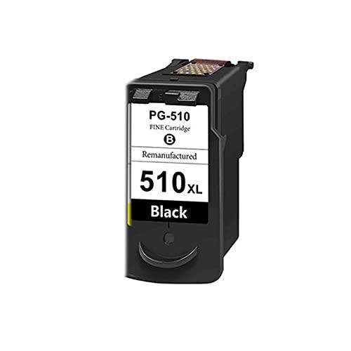 AXAX Reemplazo de tóner para Canon PG510 CL511 XL Cartucho de tóner Compatible para Canon Pixma IP2700 IP2702 MP240 MP250 MP250 MP250 Impresora MP260, Papelería de impres Black
