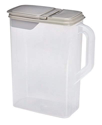 Great Deal! Dry Pet Food and Seed Storage Container |8 Quart| With Flip Lid and Bonus 1 Cup Scoop: B...