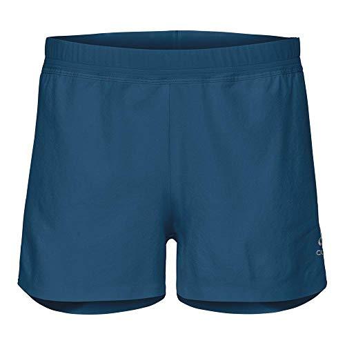 Odlo ZEROWEIGHT X-Light Pantalon Court, Femme S Bleu Sarcelle (Crystal Teal)