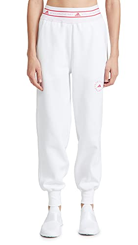 adidas by Stella McCartney Women's Sweatpants, White, X-Small