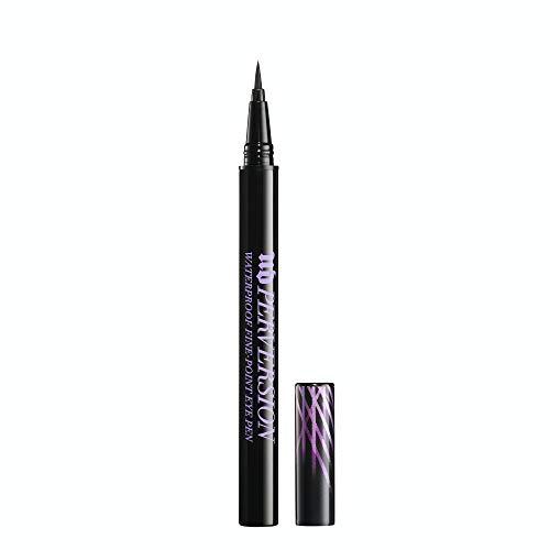 Urban Decay Perversion Waterproof Fine-Point Eye Pen - Black, Semi-Matte Liquid Eyeliner - Ultra-Fine Brush Tip