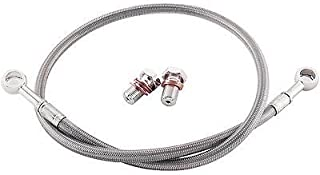 YAMAHA 1992-1998 XJ 600 SECA II GALFER REAR STAINLESS STEEL BRAIDED BRAKE LINE KIT