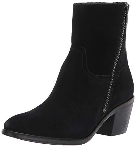UGG womens Breeda Fashion Boot, Black Suede, 8.5 US