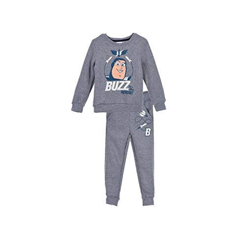Toy-Story Trainingsanzug für Kinder, Jungen, Grau, 3 bis 8 Jahre Gr. 4 Jahre, grau