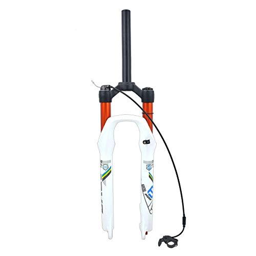 AISHANG Fourches à Suspension VTT 26 27.5 29 Pouces Fourche Avant de vélo de Verrouillage à Distance 1-1/8\